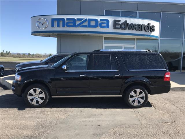2017 Ford Expedition Max Platinum (Stk: 20991) in Pembroke - Image 1 of 14