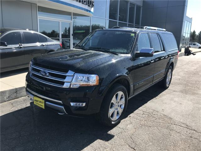 2017 Ford Expedition Max Platinum (Stk: 20991) in Pembroke - Image 2 of 14