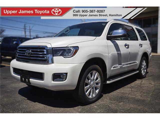 2018 Toyota Sequoia Platinum 5.7L V8 (Stk: 180554) in Hamilton - Image 1 of 21