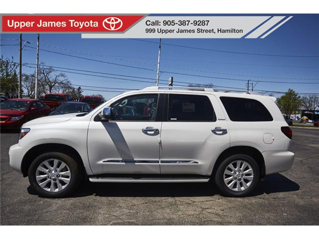 2018 Toyota Sequoia Platinum 5.7L V8 (Stk: 180554) in Hamilton - Image 2 of 21