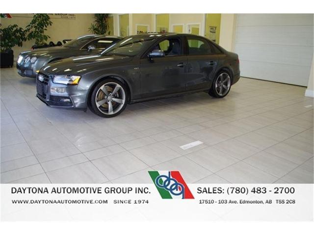 2015 Audi S4 3.0T TECHNIK LOADED ONLY 28, 000kms! (Stk: 0549) in Edmonton - Image 1 of 14