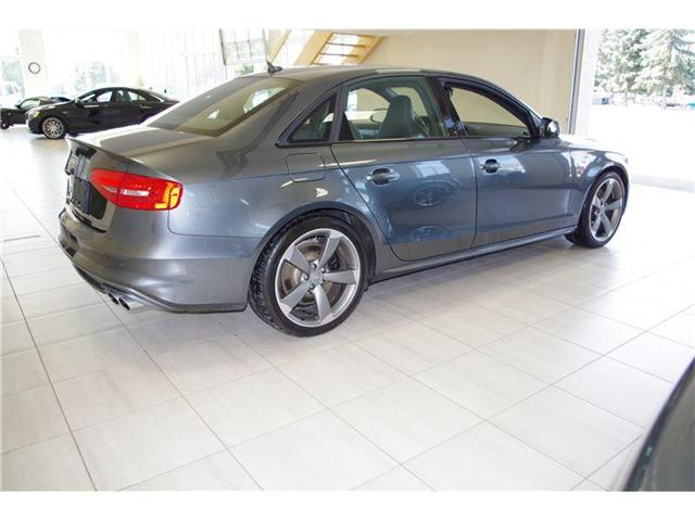2015 Audi S4 3.0T TECHNIK LOADED ONLY 28, 000kms! (Stk: 0549) in Edmonton - Image 5 of 14