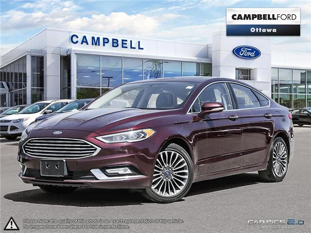 2017 Ford Fusion SE AWD-LEATHER-NAV-EXCELLENT BUY (Stk: 940940) in Ottawa - Image 1 of 28