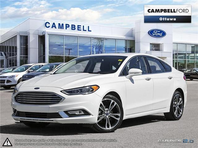 2017 Ford Fusion Titanium AWD-LEATHER-GREAT BUY-NAV-POWER ROOF (Stk: 940980) in Ottawa - Image 1 of 27