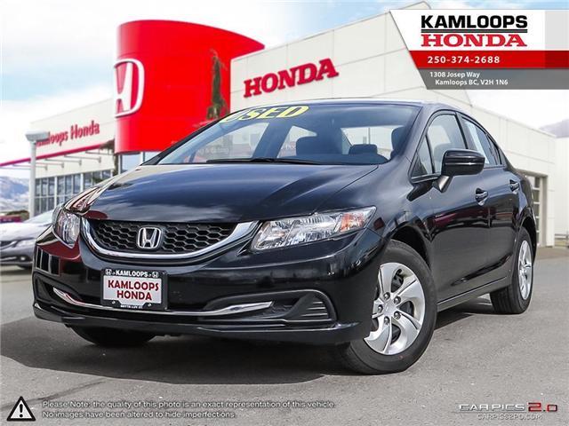 2014 Honda Civic LX (Stk: 13954U) in Kamloops - Image 1 of 24