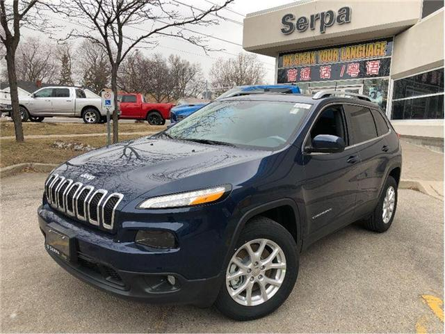 2018 Jeep Cherokee North (Stk: 184027) in Toronto - Image 1 of 15