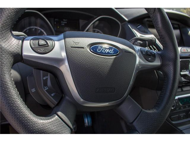 2014 Ford Focus ST Base (Stk: 8ES4760A) in Surrey - Image 22 of 28