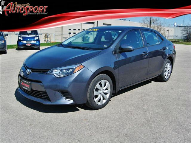 2016 Toyota Corolla LE (Stk: 1329) in Orangeville - Image 1 of 20