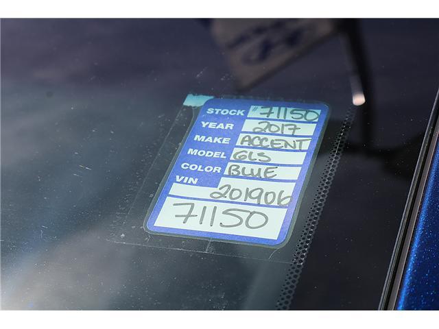 2017 Hyundai Accent GLS (Stk: 71150) in Saint John - Image 2 of 3