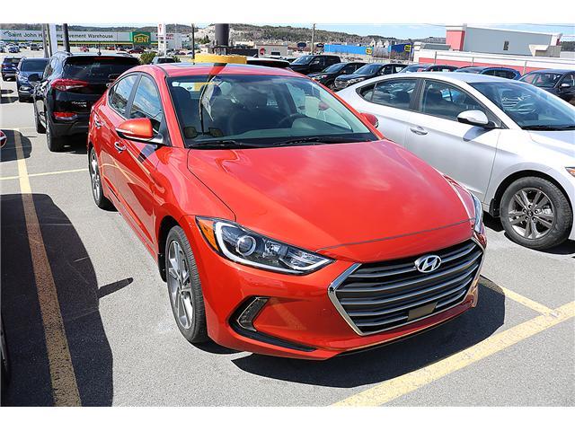 2017 Hyundai Elantra Limited SE (Stk: 72652) in Saint John - Image 1 of 3