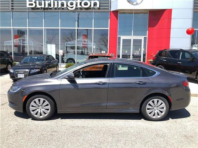 2015 Chrysler 200 LX (Stk: X6935A) in Burlington - Image 2 of 17