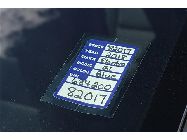 2018 Hyundai Elantra GL (Stk: 82017) in Saint John - Image 2 of 3