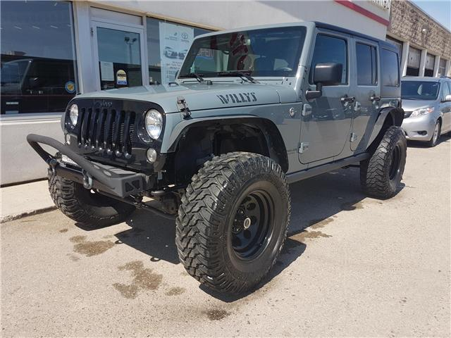 2015 Jeep Wrangler Unlimited Sport (Stk: U00611) in Guelph - Image 1 of 28