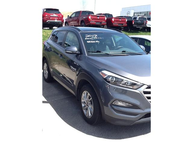 2017 Hyundai Tucson Luxury (Stk: 18222A) in Owen Sound - Image 1 of 3