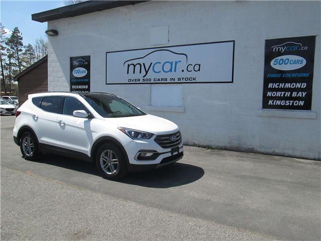 2017 Hyundai Santa Fe Sport 2.4 SE (Stk: 180566) in Richmond - Image 2 of 14