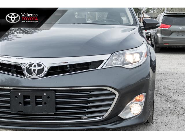 2013 Toyota Avalon XLE (Stk: 18067A) in Walkerton - Image 9 of 22
