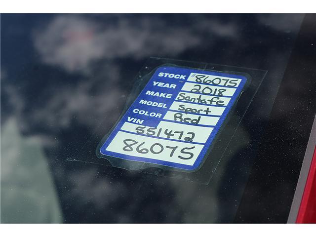 2018 Hyundai Santa Fe Sport 2.4 Base (Stk: 86075) in Saint John - Image 2 of 3