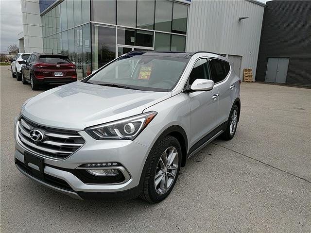 2017 Hyundai Santa Fe Sport 2.0T Ultimate (Stk: 70164) in Goderich - Image 1 of 7