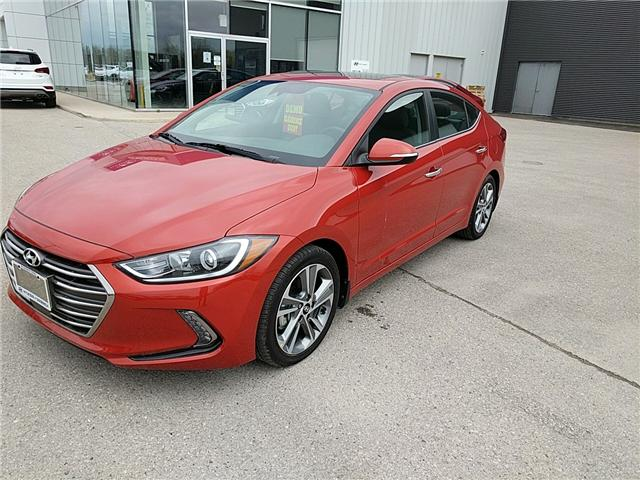 2017 Hyundai Elantra Limited Ultimate (Stk: 70031) in Goderich - Image 1 of 7