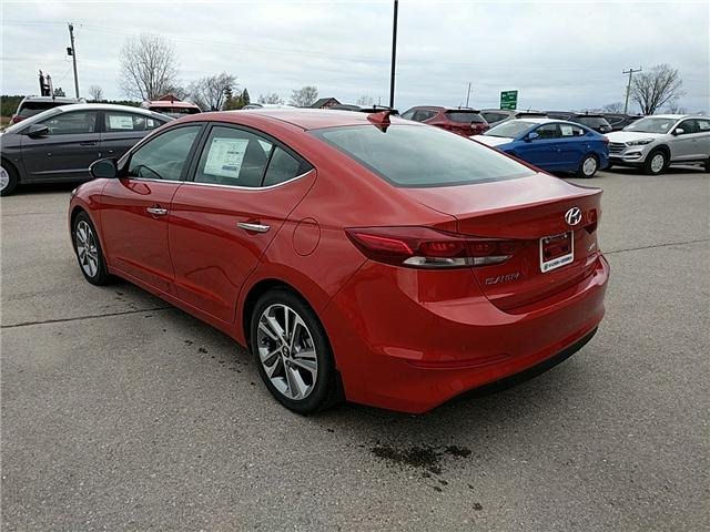 2017 Hyundai Elantra Limited (Stk: 70310) in Goderich - Image 2 of 7