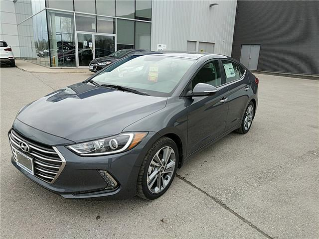2017 Hyundai Elantra Limited (Stk: 70311) in Goderich - Image 1 of 8