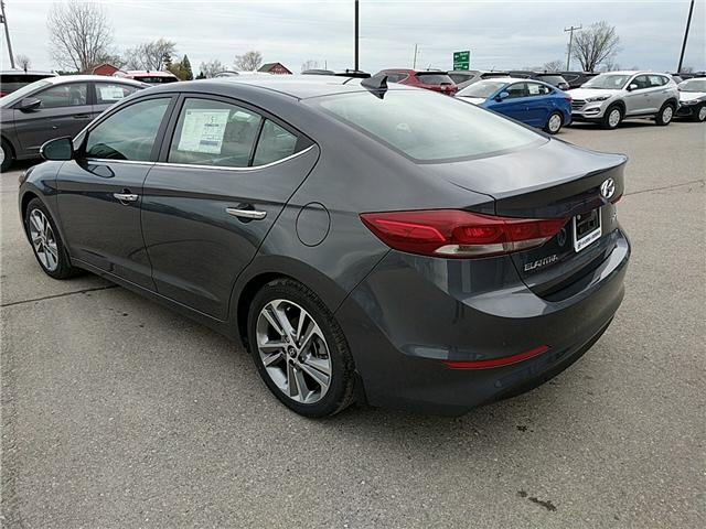 2017 Hyundai Elantra Limited (Stk: 70311) in Goderich - Image 2 of 8