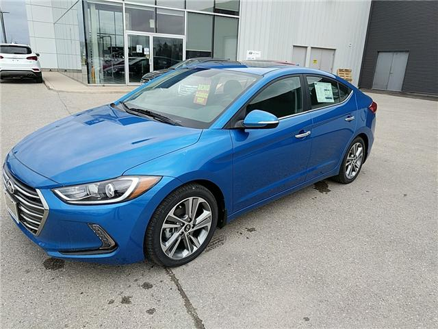 2017 Hyundai Elantra Limited (Stk: 70051) in Goderich - Image 1 of 7