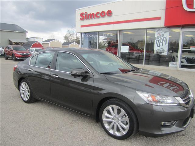 2013 Honda Accord Touring (Stk: 1852A) In Simcoe   Image 1 Of 17 ...