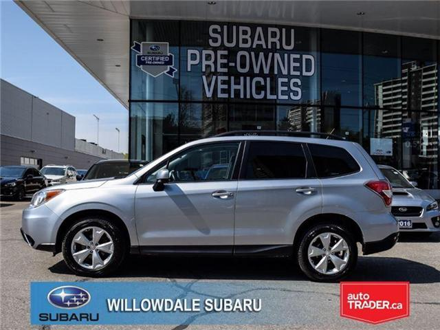 2015 Subaru Forester 2.5i Convenience | ONE OWNER | OFF LEASE (Stk: P2428) in Toronto - Image 2 of 22
