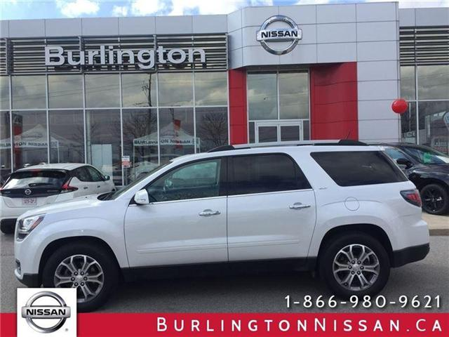 2016 GMC Acadia SLT1 (Stk: A6498) in Burlington - Image 1 of 24