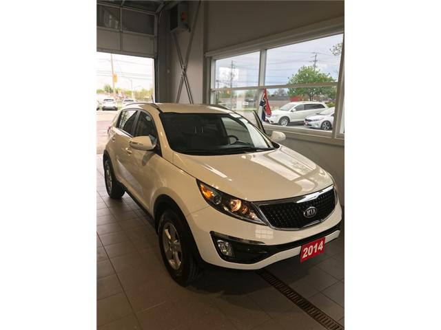 2014 Kia Sportage LX (Stk: K18400A) in Windsor - Image 1 of 10