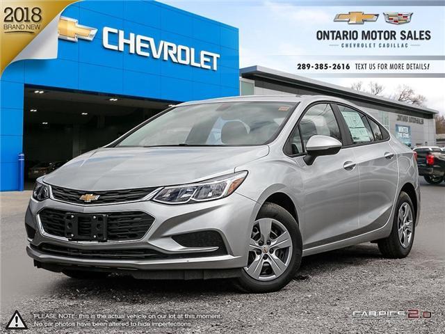 2018 Chevrolet Cruze LS Auto (Stk: 8213329) in Oshawa - Image 1 of 18