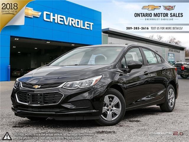 2018 Chevrolet Cruze LS Auto (Stk: 8209539) in Oshawa - Image 1 of 18