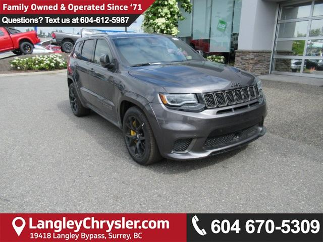 2018 Jeep Grand Cherokee Trackhawk (Stk: J331865) in Surrey - Image 1 of 14