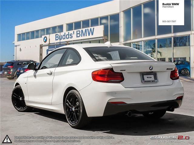 2018 BMW M240i xDrive (Stk: B43762) in Hamilton - Image 4 of 25