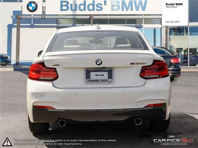 2018 BMW M240i xDrive (Stk: B43762) in Hamilton - Image 5 of 25
