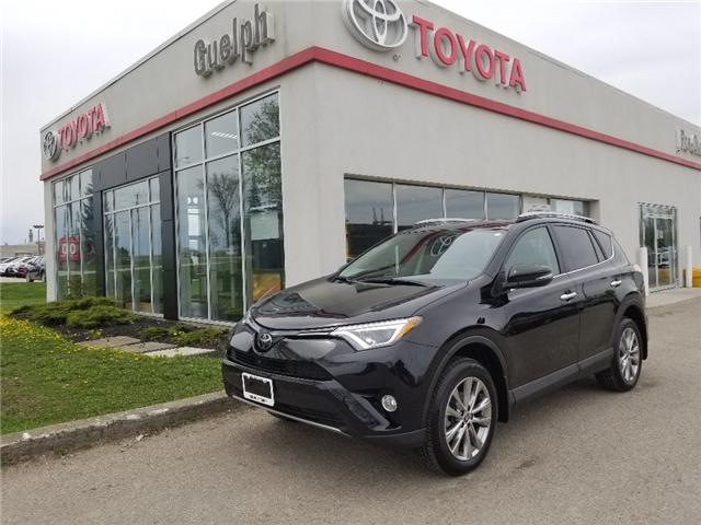 2017 Toyota RAV4 Limited (Stk: A01269) in Guelph - Image 1 of 30