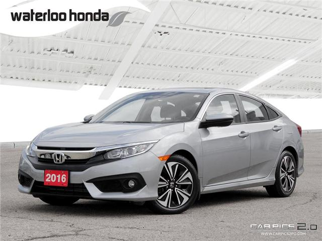 2016 Honda Civic EX-T (Stk: U3743) in Waterloo - Image 1 of 28