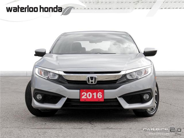 2016 Honda Civic EX-T (Stk: U3743) in Waterloo - Image 2 of 28