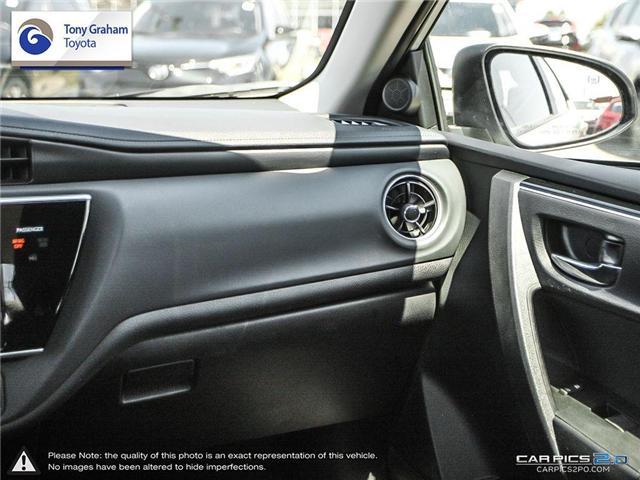2017 Toyota Corolla LE (Stk: U8885) in Ottawa - Image 11 of 25