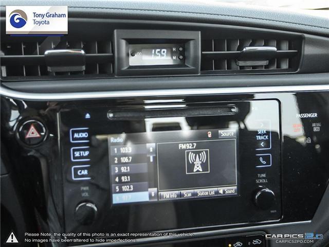 2017 Toyota Corolla LE (Stk: U8885) in Ottawa - Image 16 of 25
