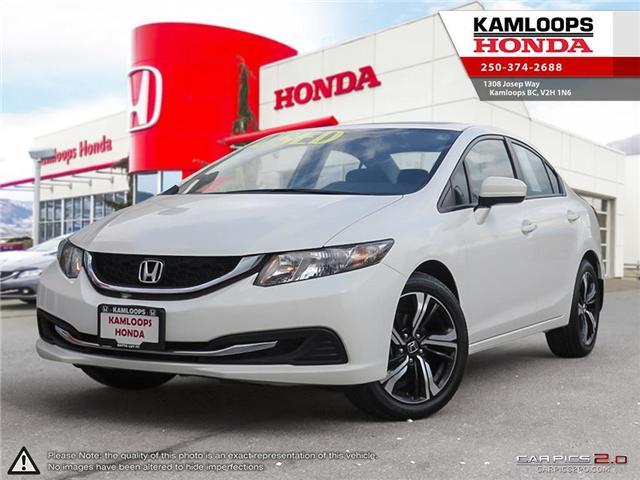 2015 Honda Civic EX (Stk: 13949U) in Kamloops - Image 1 of 24