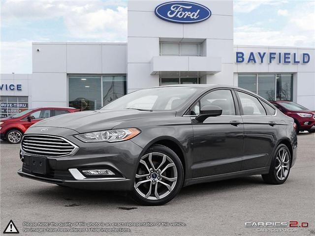 2017 Ford Fusion SE (Stk: P8419) in Barrie - Image 1 of 27