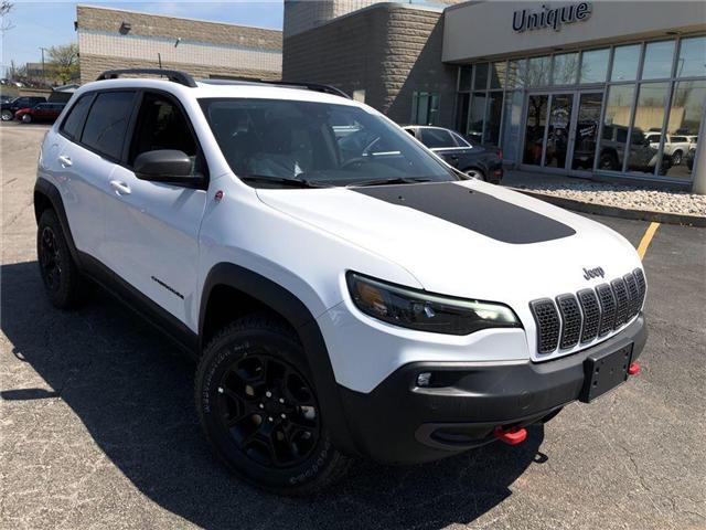 2019 Jeep Cherokee Trailhawk Elite (Stk: K050) in Burlington - Image 2 of 17
