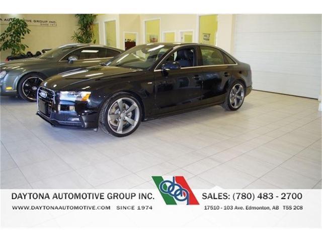 2014 Audi A4 S-LINE TECHNIK LOADED (Stk: 1713) in Edmonton - Image 1 of 13