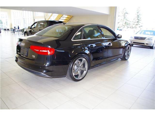 2014 Audi A4 S-LINE TECHNIK LOADED (Stk: 1713) in Edmonton - Image 6 of 13