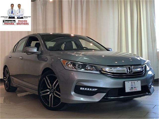 2016 Honda Accord Sport with Honda Sensing | Alloys | Camera | Autom (Stk: 37031) in Toronto - Image 1 of 30