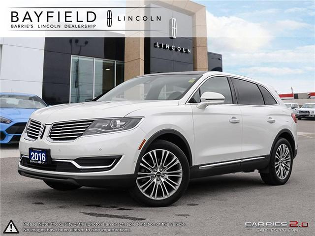 2016 Lincoln MKX Reserve (Stk: LX18432A) in Barrie - Image 1 of 27