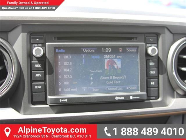 2018 Toyota Tacoma SR5 (Stk: X033117) in Cranbrook - Image 13 of 17
