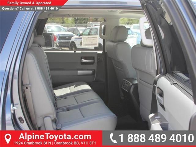 2018 Toyota Sequoia Limited 5.7L V8 (Stk: S161002) in Cranbrook - Image 12 of 19